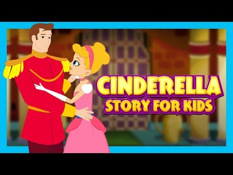 Cinderella Full Story For Kids In English  KIDS HUT STORIES