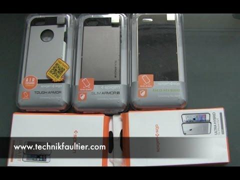 spigen-iphone-5s/5-case-und-hüllen-paket-unboxing