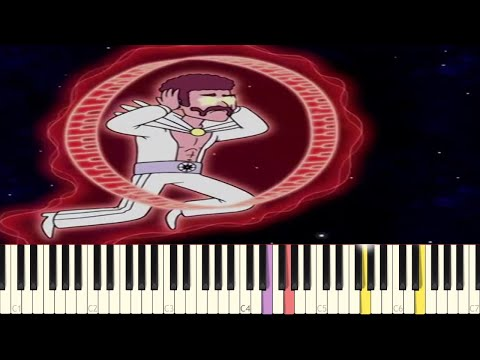 Gary's Synthesizer Battle - IMPOSSIBLE REMIX - Regular Show - Piano Cover