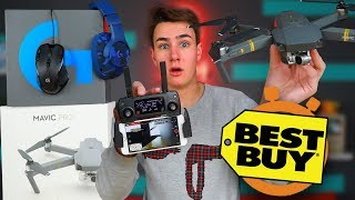 $1,000 DJI Mavic Drone - Best Buy 5 Minute Speed Shopping