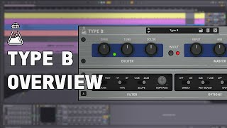 Type B Overview - Vintage Exciter Plugin (VST, AU, AAX)