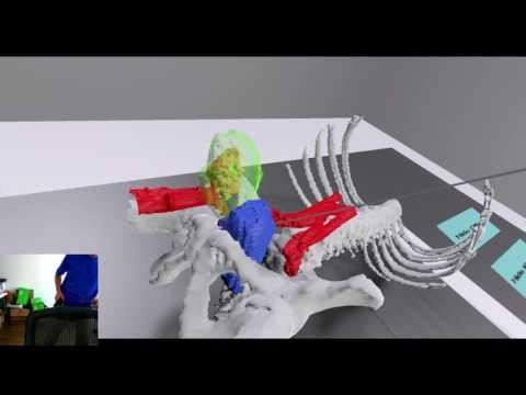 VR Medical Image Demonstration
