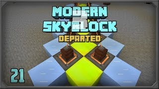 Modern SkyBlock 3 EP32 Evilcraft Spirit Furnace + Starting