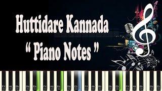 Huttidare (Akasmika) Piano Notes