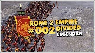 Total War ROME II Empire Divided | Legendär | Rom 👑 #002 [Let's Play][Gameplay][Deutsch]
