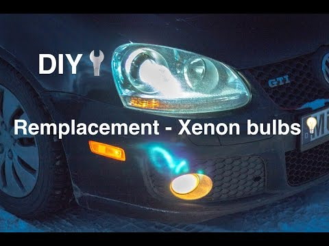 New Hella Bi Xenon Headlamps Gti Mkv Bad Ballast Doovi