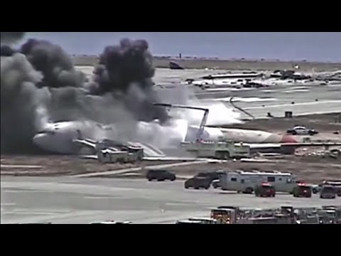 New Video of Asiana Crash at SFO Reveals Slow Response by Flight Crew