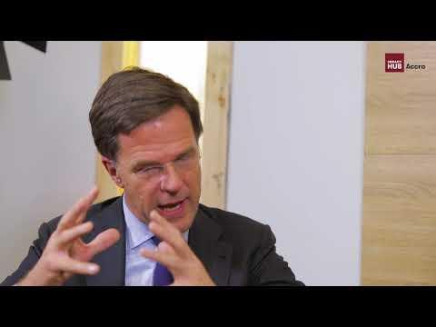 Will Senyo & Mark Rutte (Dutch Prime Minister) Interview