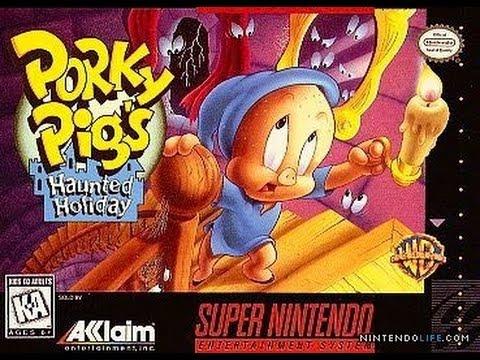 Porky Pig's Haunted Holiday Longplay