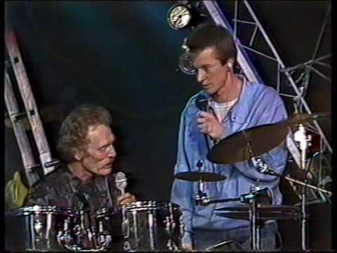 Ginger Baker Drumsolo & Interview 1987