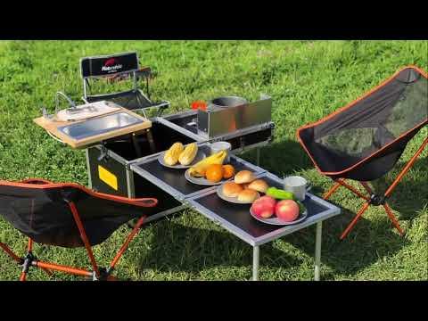 Nhà bếp di động ngoài trời nhỏ nhất và đủ chức năng nhất để cắm trại