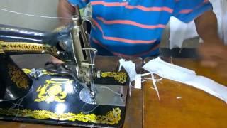 Cara membuat pola dan menjahit baju kemeja anak laki laki BAGIAN VII