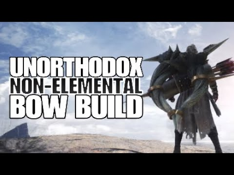 Monster Hunter: World Unorthodox Non-elemental Bow build thumbnail