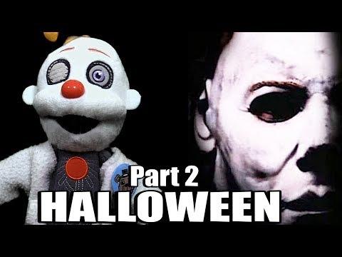 Mario Muffet:  FNAF Plush Movie – Halloween Part 2