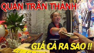 Đông KINH KHỦNG quán em gái TRẤN THÀNH mới khai trương - A MÀ HONG KONG QUÁN I cuộc sống sài gòn