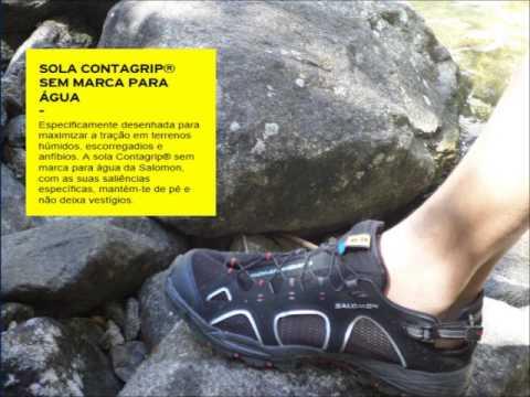 Salomon Techamphibian 3 Water Shoe (For Women) - YouTube