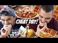 Full Day Of Cheating with Nathan Figueroa | 11,000+ Calories | Wicked Cheat Day