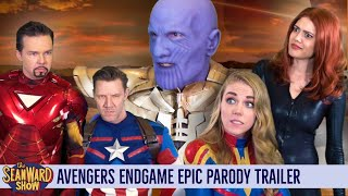 AVENGERS ENDGAME - Deleted Scenes! (parody) The Sean Ward Show