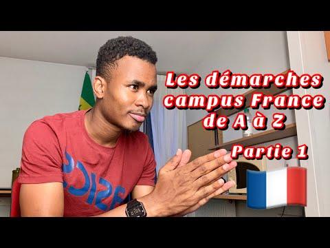 🇫🇷 Démarche Campus France 2020-2021 de A à Z : Partie 1