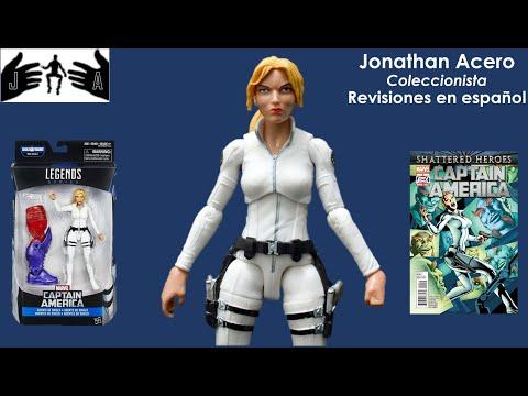 SHARON CARTER Marvel Legends Toy Review Juguete Revisión en Español Jonathan Acero