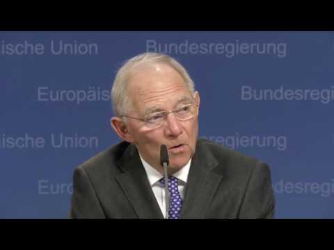 Wolfgang Schäuble presser at EcoFin/Eurogroup [6/12/2016]