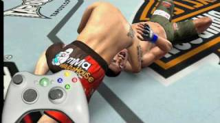 UFC 2009 Undisputed - how 2 make your opponent tapout