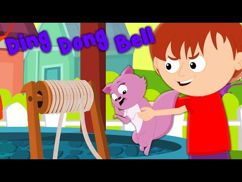 Ding Dong Bell | Nursery Rhymes | Kids Songs | Baby Videos