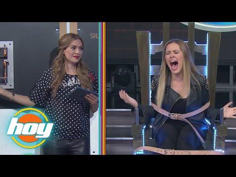 Inés Gómez Mont y Yulianna Peniche en la silla electrica, ¿quién gritó más?