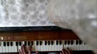 Лёгкая игра мелодии титаник на пианино (даже для новичков My heart will go on)