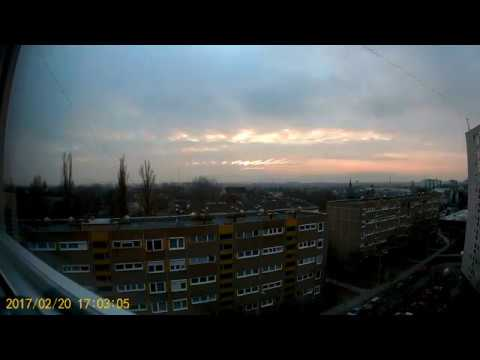1Day-1minute Timelapse Budapest, Hungary