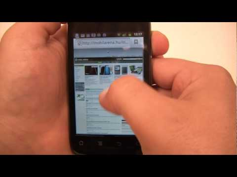 Huawei U8650 Sonic hands on