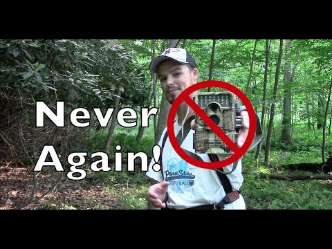 How To: Keep A Trail Camera From Being Stolen!