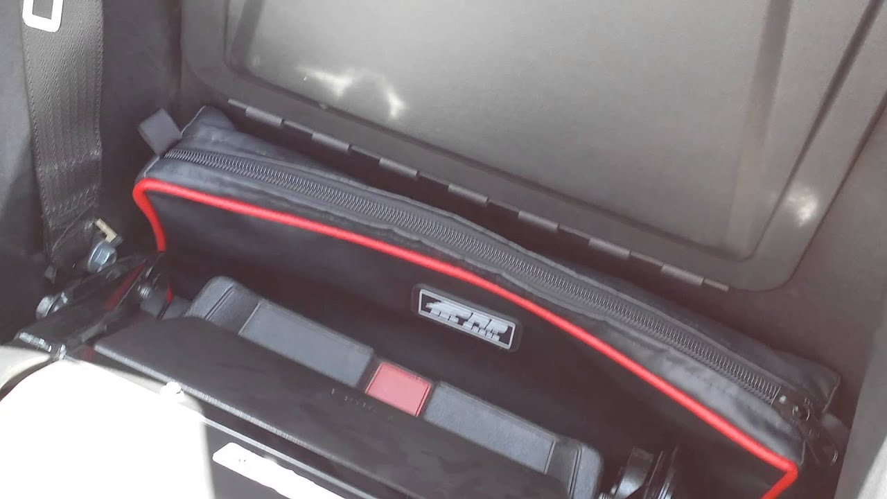 Behind the Seat Storage Bags for the Polaris Slingshot