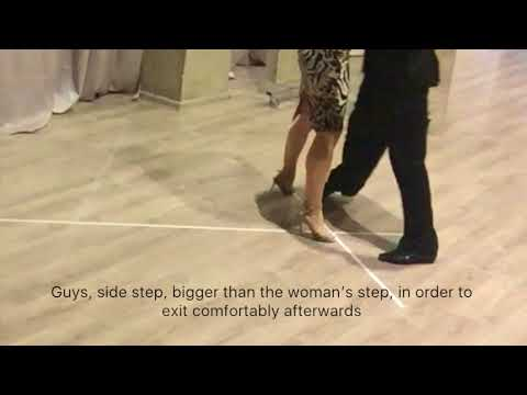 "OTL Online Tango Lessons "" Changing direction"" (by Los Rosales)"