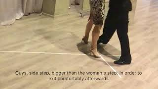 """Online Tango Lessons """" Changing direction"""""""