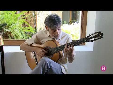 El guitarrista Carles Trepat, aquest dimecres al Festival de Pollença