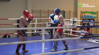 Wiktor Dmochowski (Fight Academy Ostrołęka) vs Bartosz Wdowiński (Warrior Przasnysz)