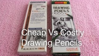 Cheap Vs Costly Drawing Pencils