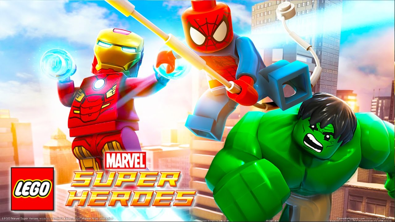 Lego marvel spiderman iron man hulk super her s jeux - Spider man en dessin ...
