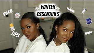 WINTER ESSENTIALS 2019! | LIPS, FACE, BODY, & HAIR