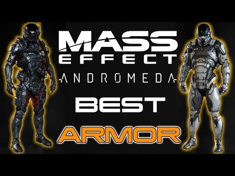 Min Maxing Guide for Mass Effect Andromeda Part 1 - The Best Armor Sets