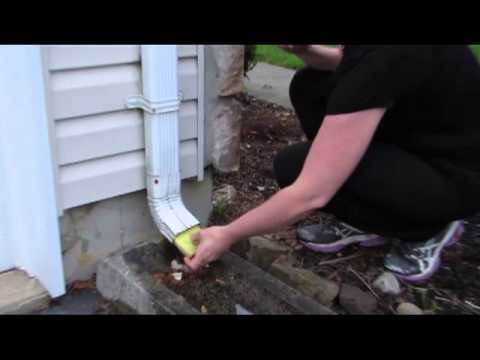 Diy Hip Chicks Stop Noisy Gutter Dripping From Annoying