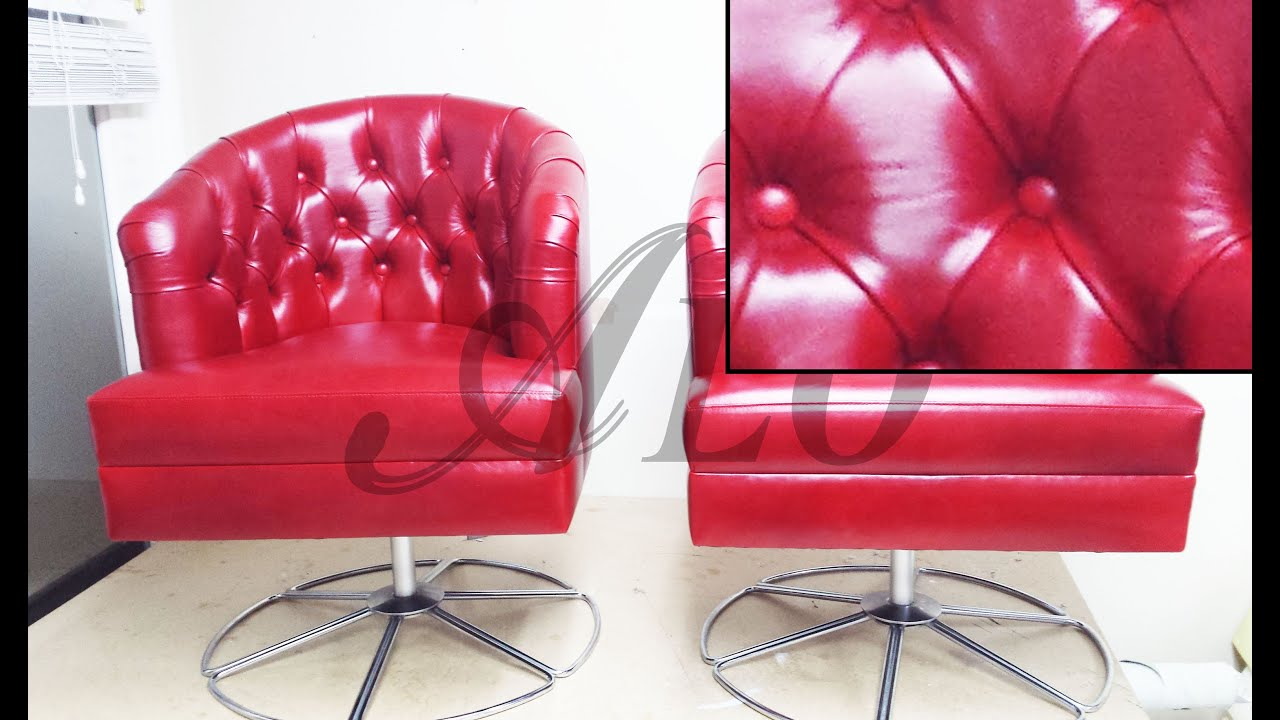 How To Reupholster A Tufted Tub Chair Charmaine H Alo Upholstery You