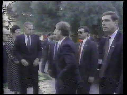 ABC News Update - Lithuania Declares Indpenedance - March 1990