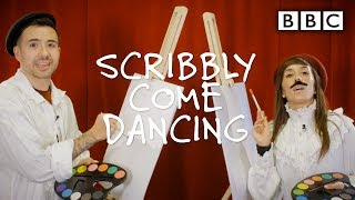 Strictly's hilarious drawing challenge 🤭😂 - Scribbly Come Dancing - Week 4 | BBC Strictly 2019