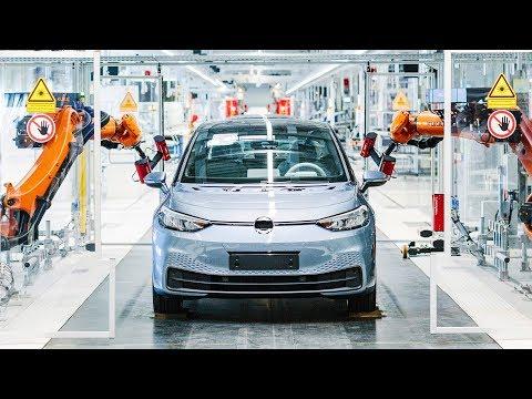 Volkswagen ID.3 Production Line - German Electric Car Factory - Design Process & Engineering