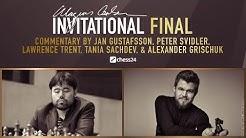 Magnus Carlsen vs. Hikaru Nakamura  | Final 4 | Final | Magnus Carlsen Invitational