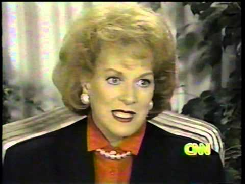 """Maureen O'Hara Interview 1991.  """"Only The Lonely""""."""