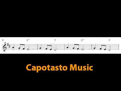 Free easy alto saxophone sheet music - Long, Long Ago