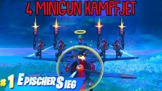 4 MINIGUNS auf 1 STORMWING! (Unbesiegbar) | Fortnite Battle Royale